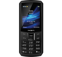 Телефон Texet TM-D328 Black